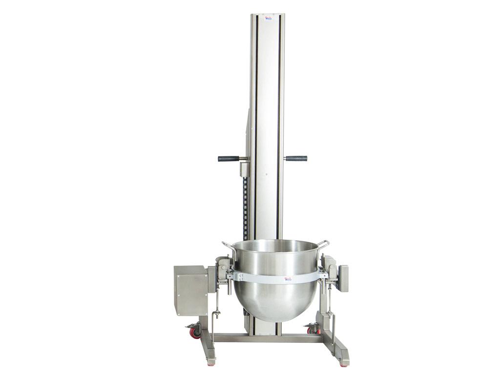Bowl lifter for planetary mixers HUB-2