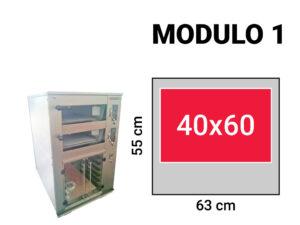 Modulo 1 wielkosc komory wypiekowej