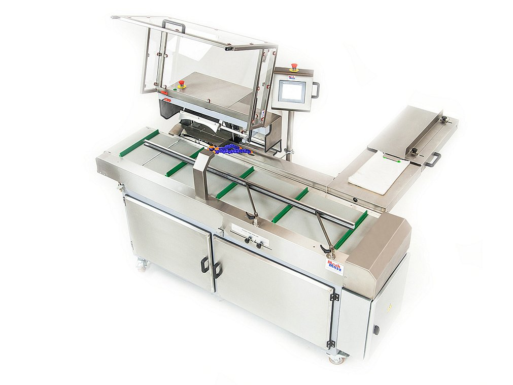 Bread packing line top view