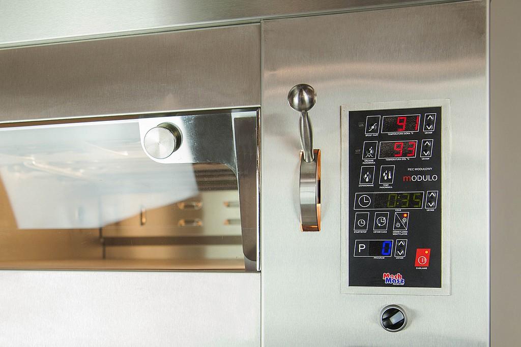 Modulo modular oven panel