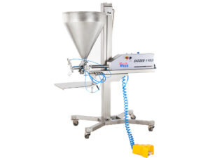 Automatic dosing machine for bakery pastry
