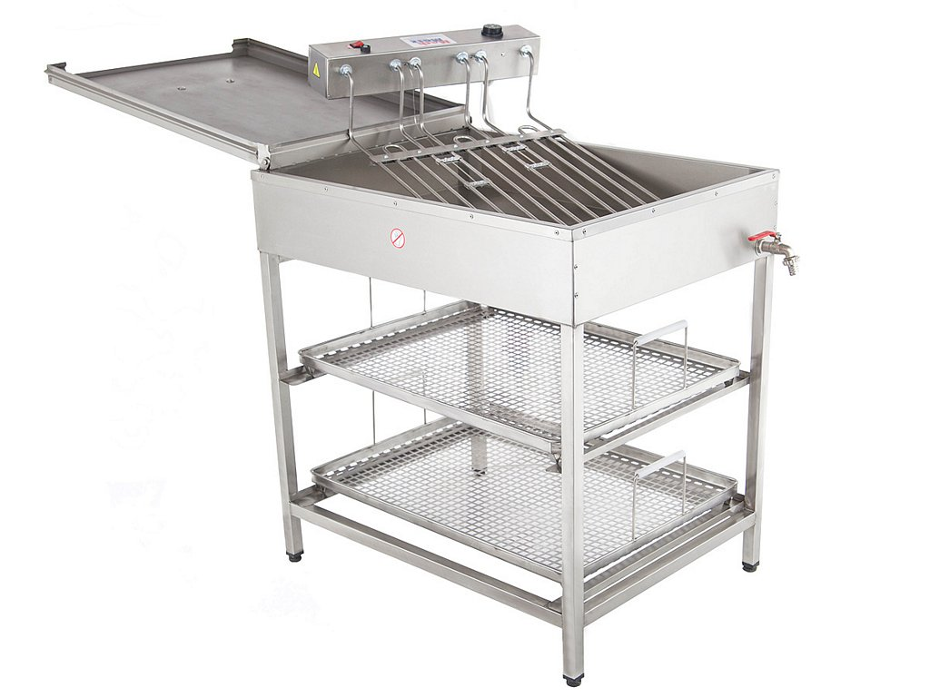 Doughnuts fryers with stand sp-60
