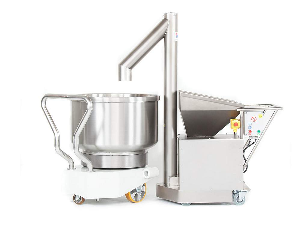 Flour sifter with mixer