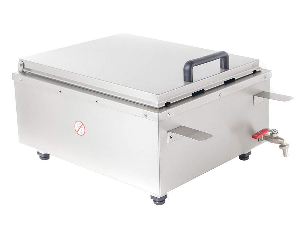 Table doughnuts fryer closed cover