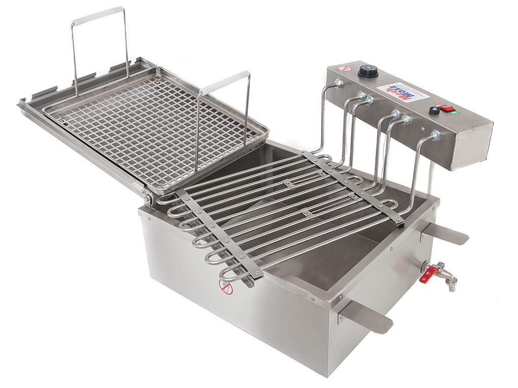 Table doughnuts fryer heaters