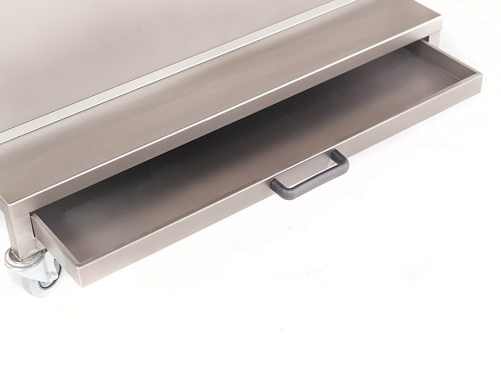 Trays cleaning machine crumble drawer