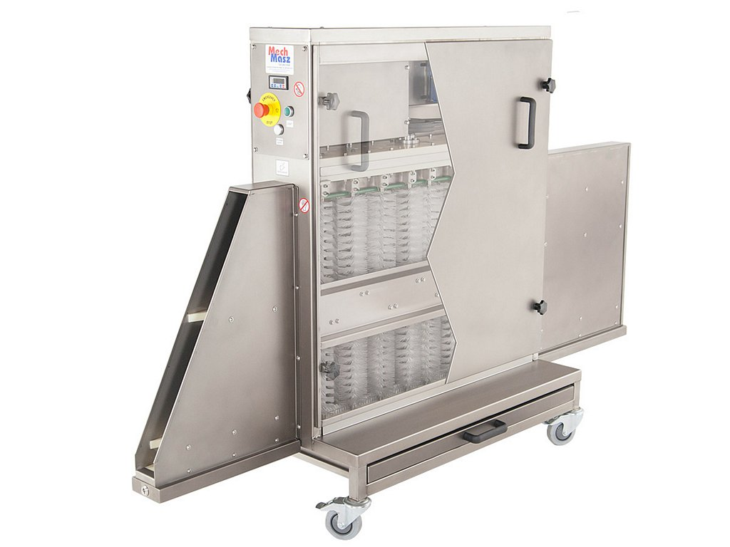 Trays cleaning machine glossy cover