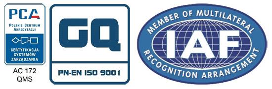 Gq quality certificate